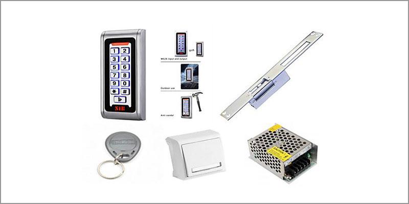 RFID Şifreli Kartlı Elektronik Kapı Açma Sistemleri